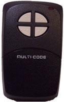 Multi Code Four Button Door Opener Remote Control Transmitter model 1097